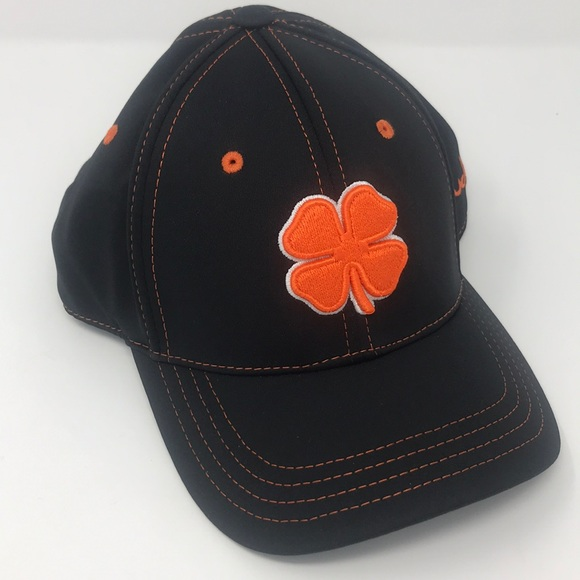 Black clover live lucky orange black hat dc4ef15ad556